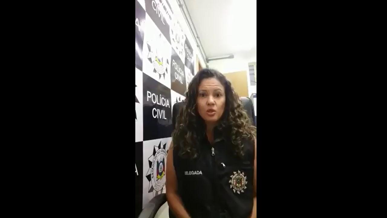 Delegada Raquel Schneider