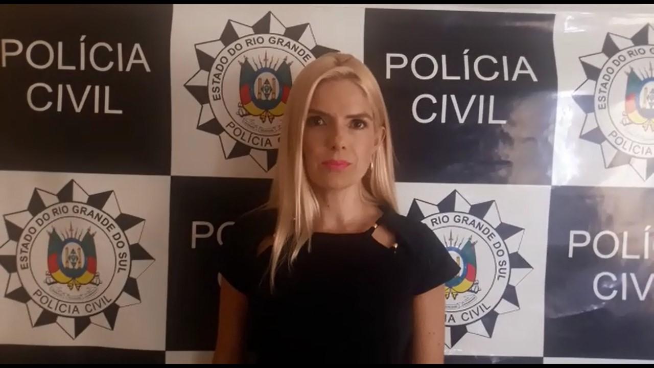 Delegada Sabrina Doris Teixeira